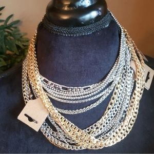 No-tarnish stainless steel chains necklaces